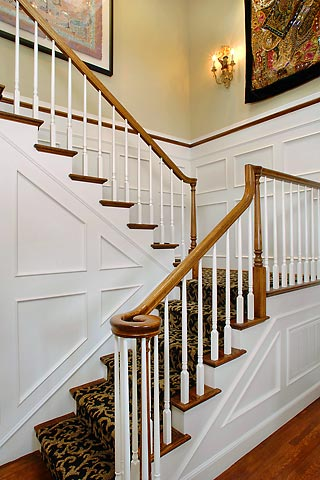 1000 Images About Colonial Elegant Staircases On Pinterest
