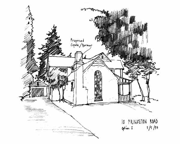 English Cottage Conceptual Drawing